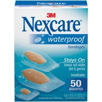 Nexcare™ Waterproof Bandages, 50 ct. Assorted