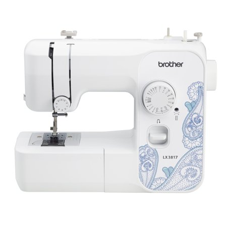 Brother Lx3817 17 Stitch Full Size Sewing Machine