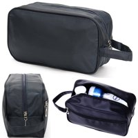 Mens Shaving Kit Travel Bag,Mens Travel Organizer Toiletry Bag Cases, Carry Tote Waterproof Wash Shower Makeup Organizer Portable Case For Cosmetics, Personal Items, Shampoo, Body