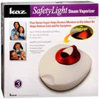 2 Pack - Kaz SafetyLight Steam Vaporizer 1 Each