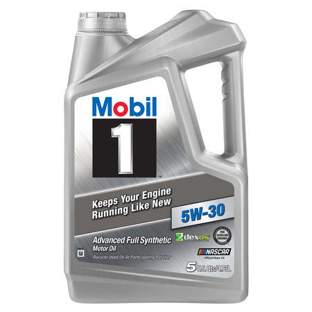 Mobil 1 Advanced Full Synthetic Motor Oil 5W-30, 5