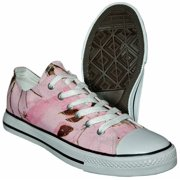 d3bbf0b39a Itasca ALUMNI Youth Girls Pink Camo Athletic Lace Up Sneaker Shoes
