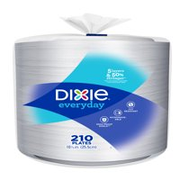 """Dixie Everyday Paper Dinner Plates, 10"""", 210 Count"""