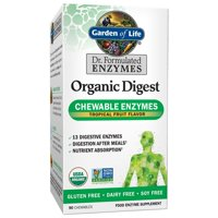 Garden of Life Dr. Formulated Organic Enyzme Chewables, 90 Ct