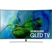 """SAMSUNG 55"""" Class Curved 4K (2160P) Ultra HD Smart QLED HDR TV (QN55Q8CAMFXZA)"""