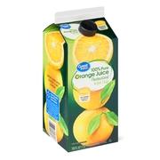 Great Value 100% Pure Orange Juice with Pulp, 59 fl oz