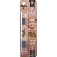 Hard Candy Look Pro! Highlight & Contour Face Duo Stick, 1096 Light, 0.184 oz