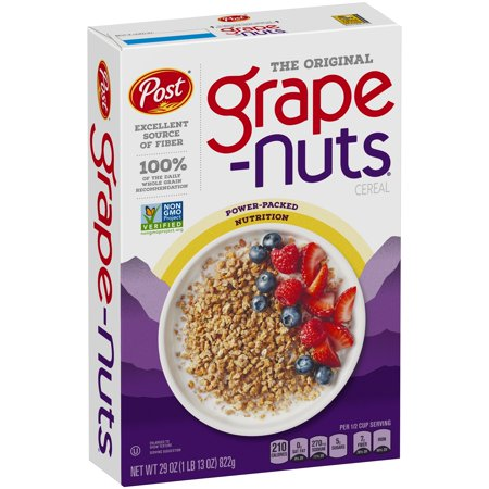 Post Grape Nuts Breakfast Cereal, The Original, 29 - Breakfast Cereal