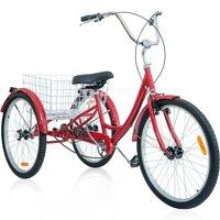 "Merax 26"" 3 Wheel Bike Adult Tricycle Trike Cruise Bike, Multiple Colors"