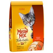 Meow Mix Tender Centers Salmon & White Meat Chicken Dry Cat Food, 13.5 lb