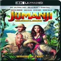 Jumanji: Welcome to the Jungle (4K Ultra HD + Blu-ray + Digital)