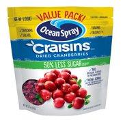 Ocean Spray Craisins Dried Cranberries Value Pack, 20 Oz.