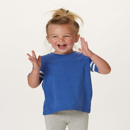 Rabbit Skins Toddler Football Fine Jersey - Rabbit Skins Football T-shirt