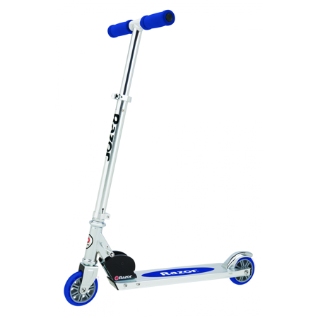 Razor Authentic A Kick Scooter - For Ages 5+ and Riders up to 143 Pounds (Toys For Girls Age 7)