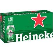 Heineken Lager Beer, 18 pack, 12 fl oz