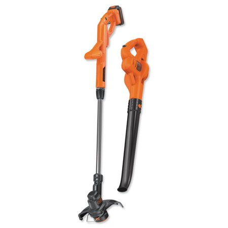 - BLACK+DECKER LCC221 20V MAX 10-INCH LITHIUM-ION 1.5AH STRING TRIMMER & SWEEPER COMBO