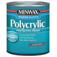 Minwax Polycrylic Protection Finish, Half Pint, Satin