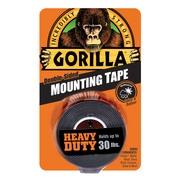 "Gorilla Heavy Duty Mounting Tape, 1"" x 60"", Black"