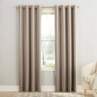 Sun Zero Madison Room-Darkening Grommet Curtain Panel