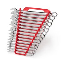 TEKTON Combination Wrench Set with Store and Go Keeper, Metric, 8 mm - 22 mm, 15-Piece | 18792