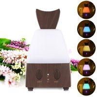 Electric Cool Mist Humidifier Air Purifier Freshener With LED Light ,US Plug Home Office LEO