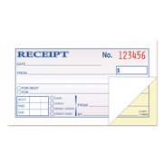 money and rent receipt books 2 34 x 4 78