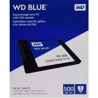 WD Blue PC SSD 500GB Internal SATA SSD (Solid State Drive) - WDBNCE5000PNC-WRSN