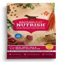 Rachael Ray Nutrish Natural Dry Dog Food, Real Beef, Pea & Brown Rice Recipe, 40 lbs