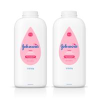 (2 pack) Johnson's Baby Powder, Hypoallergenic, 22 oz