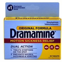 Dramamine Original Formula Tablets 36 ea (Pack of 2)