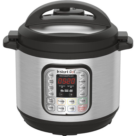 Instant Pot DUO80 8 Qt 7-in-1 Multi- Use Programmable Pressure Cooker, Slow Cooker, Rice Cooker, Steamer, SautÈ, Yogurt Maker and