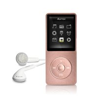 AGPtek 8GB 70 Hours Playback MP3 Lossless Sound Music Player (Supports up to 64GB)