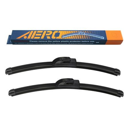 "AERO Voyager Acura TSX 2014-2009 24""+22"" Premium All-Season Beam Windshield Wiper Blades (Set of 2)"