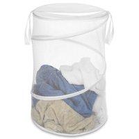 Whitmor Collapsible Laundry Hamper White