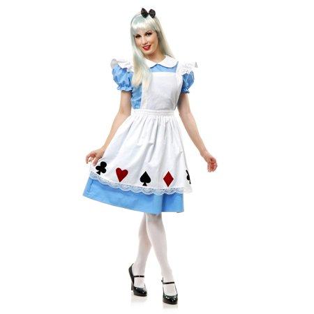 Halloween Alice Adult Costume](Alice Costume Adult)