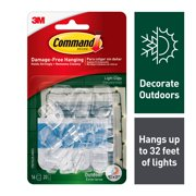 Command Outdoor Light Clips, 16 Clips, 20 Strips/Pack