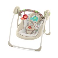 Ingenuity Soothe 'n Delight Portable Swing - Cozy Kingdom