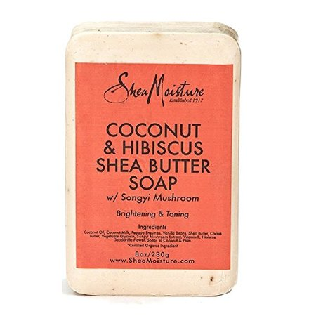 Shea Moisture Coconut & Hibiscus Shea Butter Soap, 8.0 (Best Pampers Shea Butters)