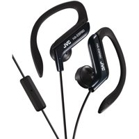 JVC HAEBR80B In-Ear Sports Headphones with Microphone & Remote (Black)