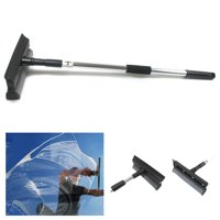 Telescopic Extendable Window Squeegee Cleaner Wiper Long Handle Washer Scrubber