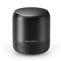 SoundCore Mini 2 Pocket Bluetooth IPX7 Waterproof Outdoor Speaker, Powerful Sound with Enhanced Bass, 15-Hour Long-Lasting Playtime, Wireless Stereo Pairing, Ultra-Portable Design, On-The-Go-Music