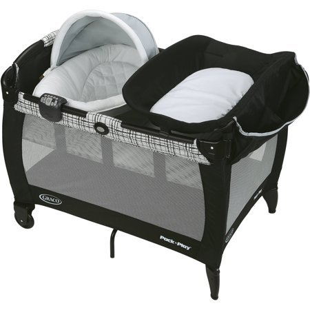 Graco Pack 'n Play Newborn Napper Playard with Soothe Surround Technology Bassinet, - Newborn Napper Station