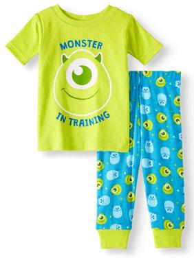 Baby Boys' Monsters, Inc. Cotton Tight Fit Pajamas, 2-Piece Set