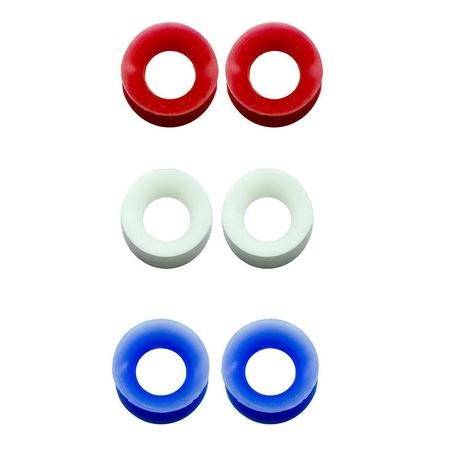 Gauges Flesh Tunnels Thin Silicone 2G-1/2