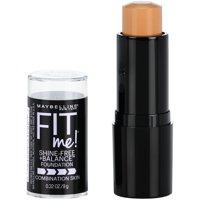Maybelline Fit Me Shine-Free + Balance Stick Foundation, 220 Natural Beige, 0.32 oz