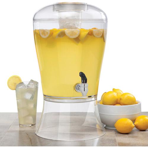 Creative Bath 3 Gallon Beverage Dispenser With Ice Core