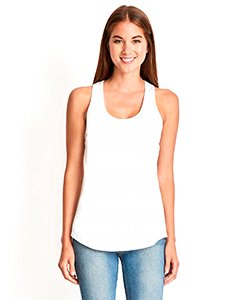 Next Level Ladies' Gathered Racerback Tank ()