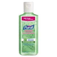 PURELL Advanced Instant Hand Sanitizer w/Aloe, 4 Oz Flip-Cap Bottle