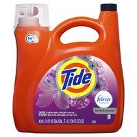 Tide Plus Febreze Freshness Spring & Renewal HE Turbo Clean Liquid Laundry Detergent, 138 fl oz 89 loads