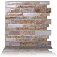 Tic Tac Tiles - Premium Anti Mold Peel and Stick Wall Tile Backsplash in Polito Fresco